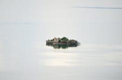 Загубленное здание на острове Стоковая Фотография RF