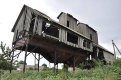 загубленное здание Стоковые Изображения RF