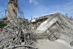 Загубленные здания от аварии стоковые фотографии rf