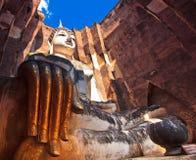 Загубленный Будда внутри приятеля Wat Si Стоковая Фотография RF