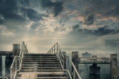 загубленный город стоковая фотография rf