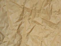 задавленная бумага Стоковые Изображения RF