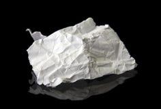 задавленная бумажная часть Стоковые Фотографии RF