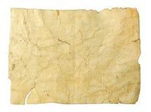 задавленная пакостная старая бумага Стоковое фото RF