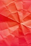 задавленный бумажный красный цвет Стоковые Изображения