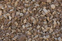 Задавленный камень для конструкции Стоковая Фотография