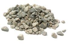 задавленный камень Стоковая Фотография