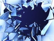задавленный льдед Стоковая Фотография RF