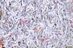 Задавленный печатный документ Стоковые Изображения RF
