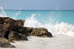 задавливать волны Стоковое Изображение