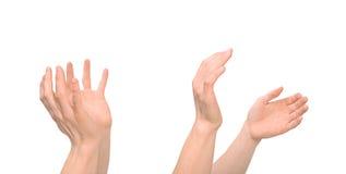 задвижка вручает ход человека s Стоковое Изображение