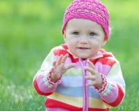 задвижка идя к малышу стоковая фотография