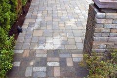 задворк landscaping pavers Стоковое Изображение RF