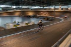 Задействуя гонка крытая Стоковая Фотография RF