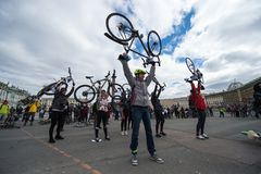Задействуя день воспитательный и культурный фестиваль Стоковые Фото