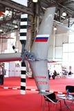 задий пропеллера вертолета Стоковое Фото