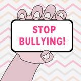 Задирать стопа показа знака текста Схематический стоп фото агрессивное поведение среди школы постарел крупный план детей  бесплатная иллюстрация