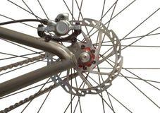 заднее колесо велосипеда Стоковые Фотографии RF