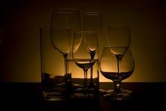задние стекла светлооранжевые стоковая фотография rf