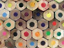 задние crayons Стоковое фото RF
