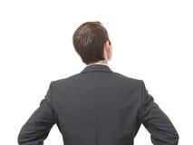задний бизнесмен Стоковая Фотография RF