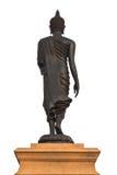 задний гулять статуи Будды Стоковые Фотографии RF