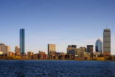 задний залив boston Стоковые Изображения RF