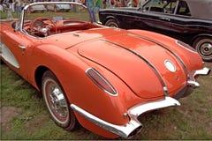 задний классицистический corvette Стоковые Изображения RF