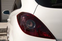 задний свет автомобиля Стоковое фото RF