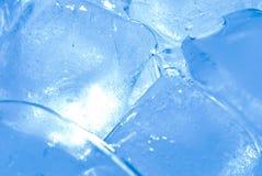 задний свет льда кубика Стоковое Изображение