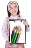задний студент школы к Стоковая Фотография RF