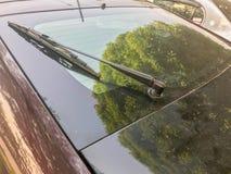 Задний счищатель лобового стекла автомобиля Стоковые Изображения