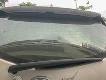 Задний счищатель лобового стекла автомобиля Стоковое Фото