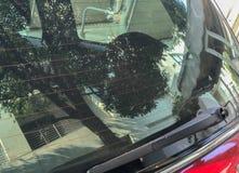 Задний счищатель лобового стекла Стоковая Фотография