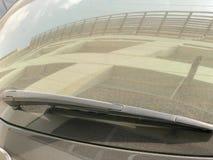 Задний счищатель лобового стекла Стоковое Изображение
