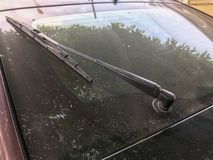 Задний счищатель лобового стекла Стоковые Изображения RF