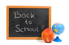задний текст школы chalkboard к Стоковая Фотография RF
