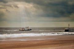 задняя безопасность гавани к Стоковая Фотография RF