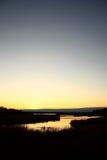 задняя вода Стоковая Фотография