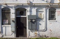 задняя дверь стоковое изображение