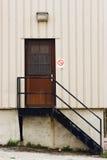 задняя дверь Стоковая Фотография RF