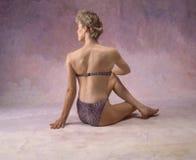 задняя женщина s Стоковая Фотография RF