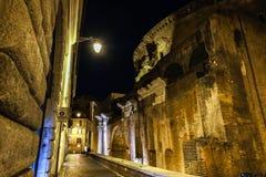 Задняя сторона пантеона старинного здания Стоковая Фотография RF
