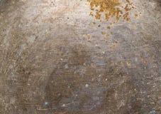 Задняя сторона плиты олова металла Стоковое фото RF