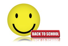 задняя счастливая школа к Стоковые Фотографии RF