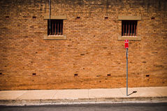задняя улица Стоковое фото RF