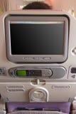 Задняя часть места авиакомпании стоковые фотографии rf
