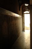 задняя часть переулка Стоковые Изображения RF