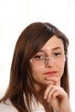 задумчивые женщины Стоковая Фотография RF