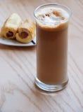 заедки frape кофе стоковое фото rf